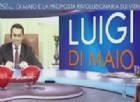 Il vicepresidente della Camera, Luigi Di Maio, a L'Aria che tira su La7, per presentare la proposta del Movimento 5 stelle contro i vitalizi