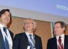 L'ad di Intesa Sanpaolo Carlo Messina con gli azionisti