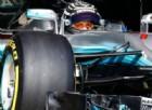 La sospensione incriminata sulla Mercedes di Valtteri Bottas