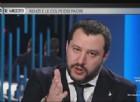 Il leader della Lega Nord, Matteo Salvini, ospite di Otto e mezzo su La7 ha attaccato Silvio Berlusconi