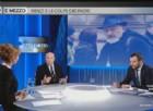 Il leader della Lega Nord, Matteo Salvini, ospite di Otto e mezzo su La7 ha ironizzato sul padre di Matteo Renzi, Tiziano