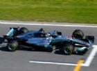 Valtteri Bottas in azione nei test a Barcellona