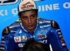 Andrea Iannone ai box Suzuki