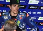 Maverick Vinales ai box Yamaha in Qatar