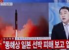 Il lancio dei missili da parte di Pyongyang descritto da un servizio televisivo.