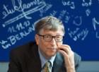 Bill Gates è l'uomo più ricco del mondo.