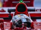 Sebastian Vettel al volante della sua SF70H