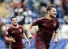 Il capitano dei giallorossi, Francesco Totti