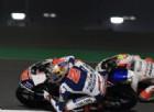Fabio Di Giannantonio in azione sulla sua Honda nei test in Qatar
