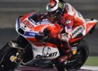 Jorge Lorenzo in azione sulla sua Ducati nei test a Losail