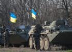 Carri armati delle forze di Kiev.