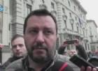 Il leader della Lega nord, Matteo Salvini, infuriato dopo le parole del presidente dell'Eurogruppo Jeroen Dijsselbloem sui Paesi del Sud Europa