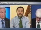 Tutti contro Matteo Salvini a Otto e mezzo su La7, che si è visto mettere sotto accusa per la sua vicinanza a Vladimir Putin