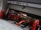 Pioggia e smog frenano la Ferrari in Cina: Vettel riesce a fare solo tre giri