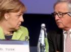 Da Merkel a Juncker a Valls, tutto l'establishment sta con Macron