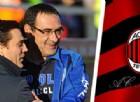 Milan, crescono i dubbi su Montella: Mancini l'alternativa, Sarri il sogno
