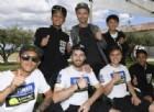 Finalmente gli allievi della scuola Yamaha incontrano il maestro Valentino Rossi