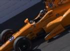 Il giorno dopo il GP di Spagna, Fernando Alonso è già in pista a Indianapolis