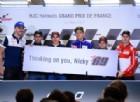 Valentino Rossi «sotto shock» per il terribile incidente del suo amico Nicky Hayden
