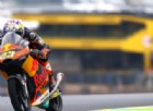 La pioggia esalta Niccolò Antonelli e Andrea Migno in Moto3
