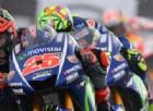 Yamaha domina le qualifiche: Maverick Vinales in pole, Valentino Rossi subito dietro