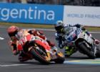 La Honda non è spacciata: Marc Marquez comanda il warm up