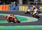 Marc Marquez e Valentino Rossi, i due rivali finiscono a terra: «Siamo tutti umani»