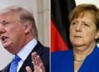 Trump zittisce la Merkel e salgono i toni tra Usa e Germania