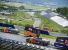 Ricciardo e Verstappen corrono un GP... con le roulotte