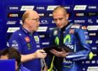 Valentino Rossi stringe i denti: «Ho dolore, ma farò di tutto per correre al Mugello»