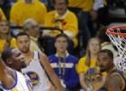 Durant e Curry da sogno. Golden State non sbaglia la prima