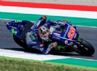 Solo Maverick Vinales nega a Valentino Rossi la pole position in casa