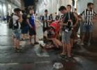 Feriti e volti insanguinati in piazza San Carlo: l'assurdo durante la partita della Juve