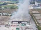 Incendio Ecoricicli, il Comune presenta una denuncia contro ignoti per procurato allarme
