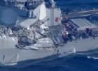Giappone, collisione tra nave militare Usa e mercantile filippino: 7 marinai dispersi