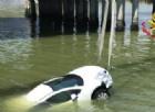 Auto finisce nel canale allo scalo del Tronchetto