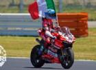Marco Melandri è tornato: davanti al suo pubblico la prima vittoria con Ducati