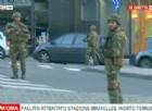 Bruxelles, attacco alla stazione centrale. Ucciso il terrorista