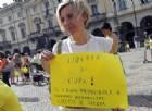 Manifestazione ad Aosta del gruppo 'Genitori per la libera scelta' contro il decreto vaccini