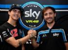 Pecco Bagnaia resta con Valentino Rossi: un altro anno in Sky Vr46