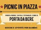 picnic in Piazza Santa Giulia