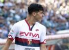 Il baby attaccante del Genoa Pietro Pellegri