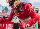 Leclerc, pole commovente: il baby ferrarista la dedica al papà appena morto