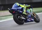 Sorride Valentino Rossi: il nuovo telaio passa anche l'esame della pioggia