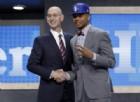 Draft NBA, Markelle Fultz prima scelta assoluta per Philadelphia
