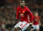 Paul Pogba con la maglia del Manchester United