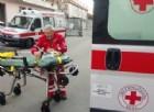 L'ambulanza della Croce Rossa (immagine d'archivio)