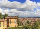 Panoramica della città di Biella dal Piazzo