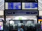 La stazione centrale di Francoforte dopo un attacco informatico avvenuto nel mese di maggio