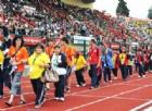 Splendido scatto della passata edizione degli Special Olympics